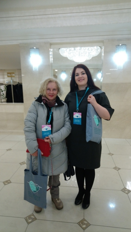 Olga Shtemberg and Ekaterina Obluchinskaya